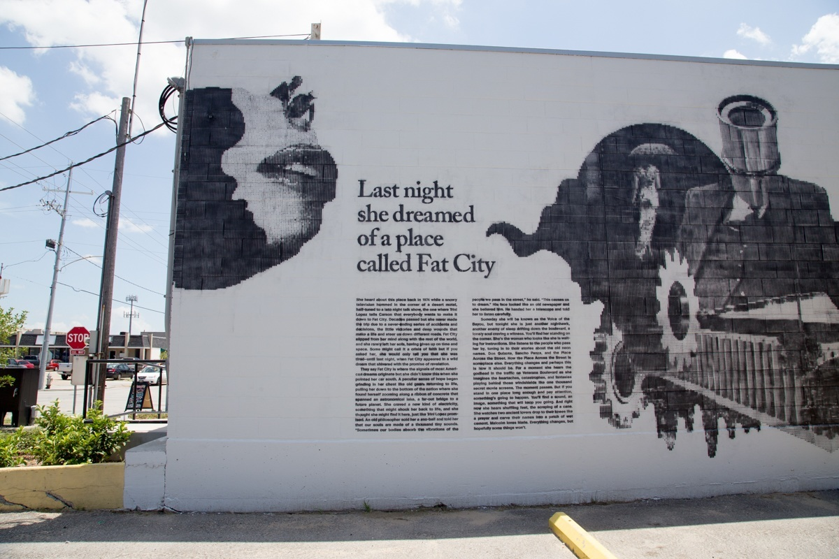 Arts council new orleans the fat city mural project for City mural projects