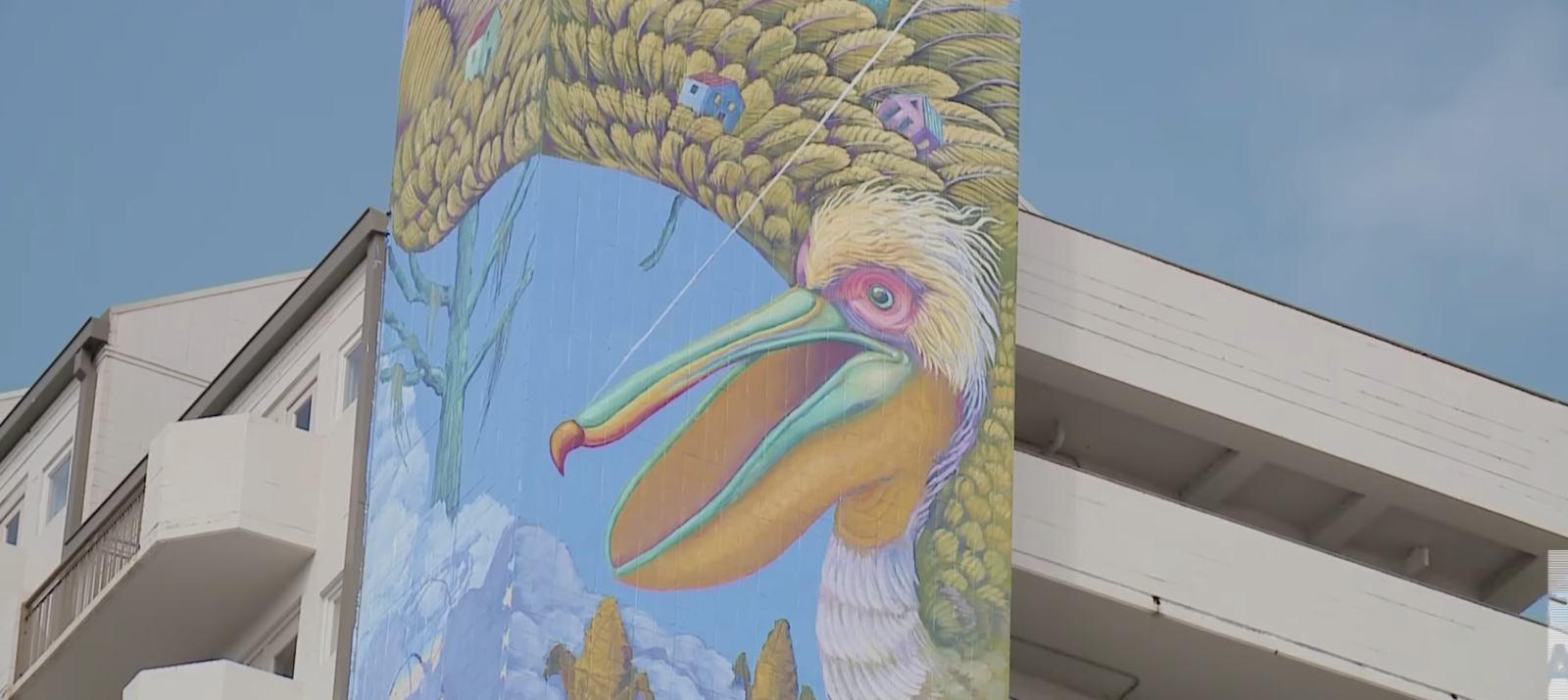 Internationally Recognized Artist Danaé Brissonnet Paints New Mural Downtown, First Installation of Unframed 2.0, Presented by The Helis Foundation